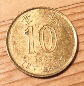Hong Kong 10 cent 1997