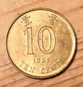 Hong Kong 10 cent 1995