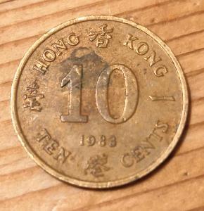 Hong Kong 10 cent 1983