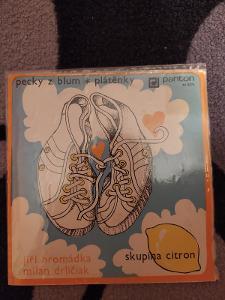 CITRON - Pecky z blum, Plátěnky  1976 Panton Raritka v TOP stavu!