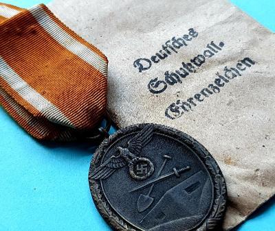 Medaile za stavbu západního valu - Carl Poellath, Schrobenhansen - TOP