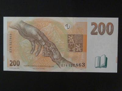 """200 Kč 1998 série E - stav """"N"""""""