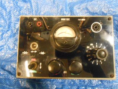 rarita starý radio elektronka tester 1965 z laboratoří IBM dioda