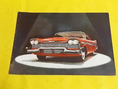 --- Plymouth 1958 ------------------------------------------------ USA