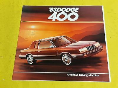 --- Dodge 400 (1983) --------------------------------------------- USA