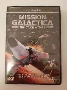 Mission Galactica The Cylon Attack DVD, rarita v Battlestar Galactica
