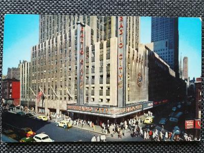 USA, NEW YORK CITY, RADIO CITY MUSIC HALL