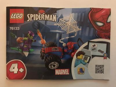 Návod Lego # 76133 Spider-man * Marvel 🗿 🗿 🗿