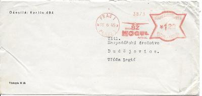 Obálka Praha frankotyp 22.6.1945