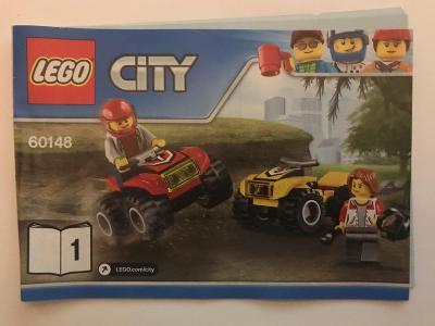 Návod Lego # 60148 * CITY 🗿 🗿 🗿