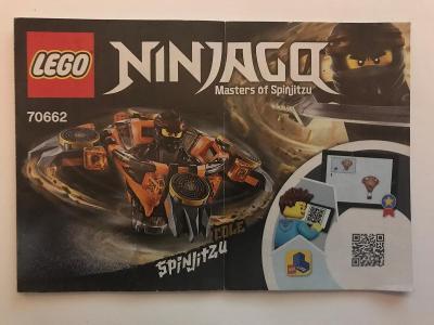Návod Lego # 70662 * Ninjago * Spinjitz  🗿 🗿 🗿