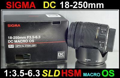💥 pro Nikon - Sigma DC 18-250mm 1:3.5-6.3 HSM OS **APS-C zoom** TOP👍
