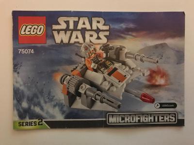 Návod Lego # 75074 * Stars Wars * Mikrofighters   🗿 🗿 🗿