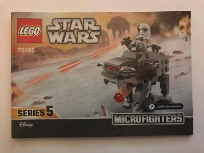 Návod Lego # 75195 * Star Wars * serie 5 🗿 🗿 🗿