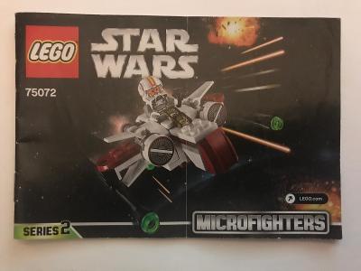 Návod Lego # 75072 *  Star Wars * Series - 2 🗿 🗿 🗿