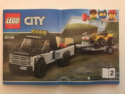 Návod Lego # 60148 - 2 * CITY 🗿 🗿 🗿
