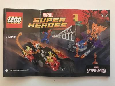 Návod Lego # 76058 * Super Heroes * Spider - Man *  🗿 🗿 🗿