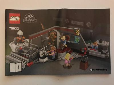 Návod Lego # 75932 - 1  * Jurassic World   🗿 🗿 🗿