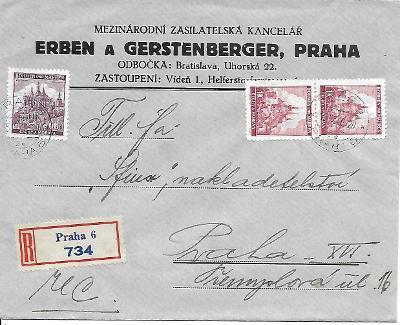 Firemní doporučená obálka Praha v místě