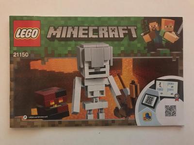 Návod Lego # 21150 * MInecraft  🗿 🗿 🗿