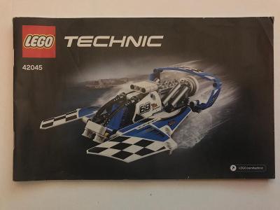 Návod Lego # 42045 * Technic 🗿 🗿 🗿