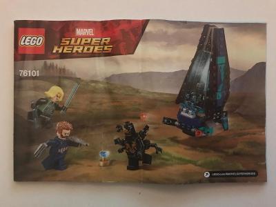 Návod Lego # 76101 * Super Heroes * Marvel 🗿 🗿 🗿