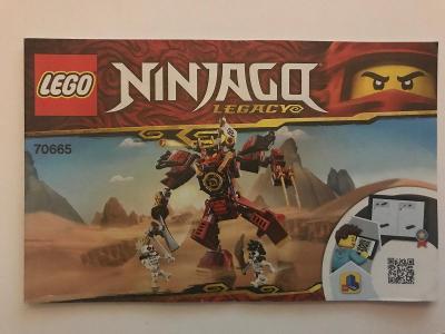 Návod Lego # 70665 * Ninjago * Legacy  🗿 🗿 🗿