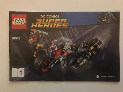 Návod Lego # 76053 * DC Comics * Super Heroes   🗿 🗿 🗿