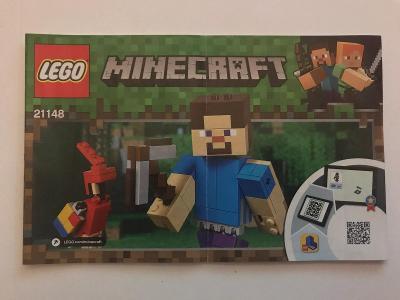 Návod Lego # 21148 * Minecraft 🗿 🗿 🗿