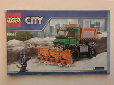 Návod Lego # 60083 * City  🗿 🗿 🗿