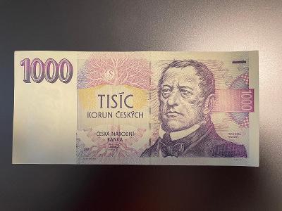 Bankovka 1000 Kč vzor 1993 serie B