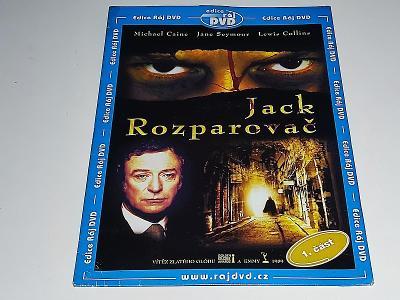 JACK ROZPAROVAČ 1. ČÁST : MICHAEL CAINE / DVD NOVÉ