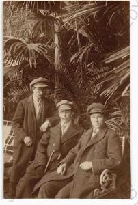 Skupinový portrét muži