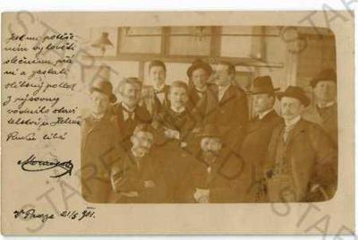 Skupinový portrét muži DA