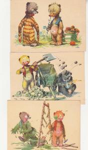 Salač, medvídci, 6 ks, luxusní