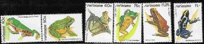 Surinam **1981 Žáby