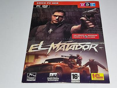 PC DVD-ROM : EL MATADOR / NOVÉ