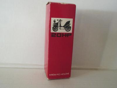 Krém po holení - zachovalá krabička
