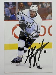 Autogram - Anže Kopitar - Los Angeles Kings NHL