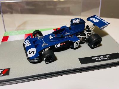 Model Formule F1 Tyrrell Ford 006 Stewart 1973 1:43 (Altaya Minichamps