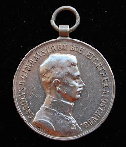 Karel I. - Medaile za statečnost / FORTITVDINI