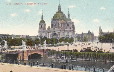 Německo, Berlín - prošlá 1908