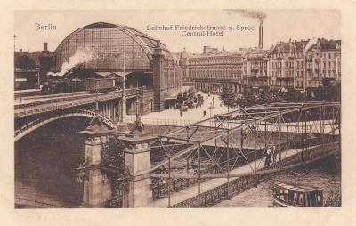 Německo, Berlín (nádraží) 1919