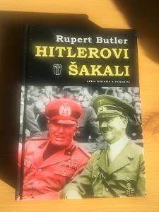 Kniha Hitlerovi šakali-Hitler-Tiso-Mussolini