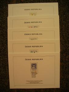 ČR- nálepní listy, kompletní ročník 1997
