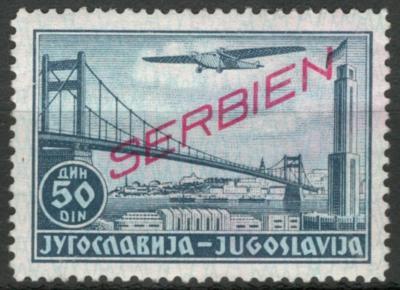 Deutsches Reich - WWII OKUPACE SERBIEN / SRBSKO - Mi. 25 **