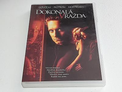 DOKONALÁ VRAŽDA : MICHAEL DOUGLAS - G. PALTROW / DVD NEŠKRÁBLÉ