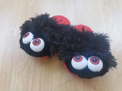 boty chlupaté pantofle bačkory  31 - 32  - SPARKYS