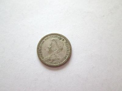 Stříbrný 10 cent 1917 - Holandsko