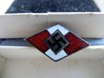 Odznak Hitlerjugend, značen (RZM M 190)